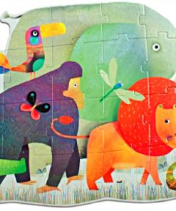 Djeco-Giant-Puzzle-Animal-Parade