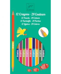12-double-ended-pencils-24-colours-djeco-dj09758