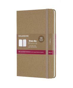 Записная книжка Moleskine, в твердой тканевой обложке, бежевый