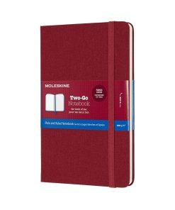 Записная книжка Moleskine, в твердой тканевой обложке, красный