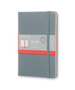 Записная книжка Moleskine, в твердой тканевой обложке, серый