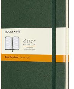 Блокнот Moleskine Classic в линейку, в твердой обложке, миртовый зеленый